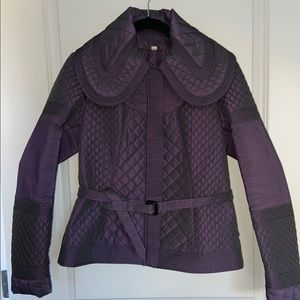 Burberry Quilted, Belted NWOT